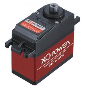 Buy cheap RC Digital servo XQ-S4116D,7.4V high voltage mental gear servo from wholesalers