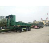 Quality Hydraulic Tipper Trailer 3 Axle 60 Tons Loading Capacity, Dump Trailer Truck for sale