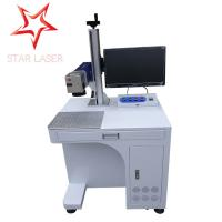 Keyboard Portable Fiber Laser Marking Machine Compact Without Consumptive Materials
