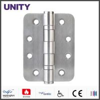 Quality UNITY Mortice Door Hinge PVD AISI304 Stainless Steel Brass Finish for sale