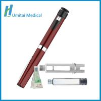 Buy cheap Refillable Diabetes Insulin Pen Injector With Travel Case For Diabetes Patients from wholesalers