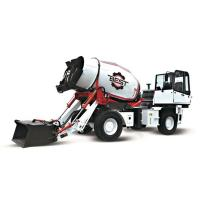 Buy cheap 4 CBM High Efficient Mobile Concrete Mixer Truck With One Year Warranty from wholesalers