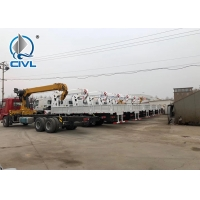 Quality HOWO 6x4 10 Ton Folding Boom Truck Mounted Crane Engine 160hp - 290hp for sale