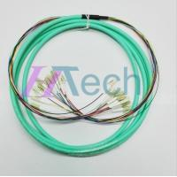 China LC-LC 24 core Multimode 10Gb Ethernet OM3 Fiber Cable on sale