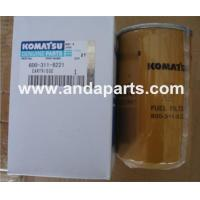 Quality GOOD QUALITY FUEL FILTER 600-311-8221 FOR KOMATSU for sale
