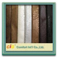 Quality 0.6mm Thickness PVC Decorative Artificial Leather For Handbag / wallet for sale