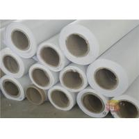 Quality Anti Flame 340g White Frontlit PVC Flex Banner White Substrate For Wide Format Digital Printing for sale
