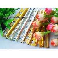 Quality Colored Metal Quarter Round Tile Trim For Wall Corner / Ceramic Tile Edge Trim for sale