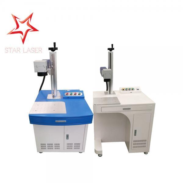 Buy Stainless Steel Fiber Laser Engraver , USB Flash Drive Fiber Marking Machine at wholesale prices