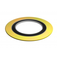 Quality Ptef 600lb Graphite Filled 316l Spiral Wound Gasket With Inner Ring for sale