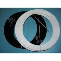 Quality Steel Black Vinyl Nylon Coated Wire Rope Flat Oval Agriculture for sale
