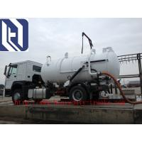Quality Red 6x4 12m3 Sewage Suction Truck Septic Pump Truck Garbage Fecal SINOTRUK SWZ for sale