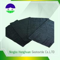 Quality Recycled / Virgin Geotextile Woven Fabric Pp 160kn Split Film For Railway Project for sale