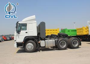 Quality 6x4 10 Tires SINOTRUK HOWO Tractor Truck 6X4 Euro2 engine 350-420hp Prime Mover Truck With Semi Trailer for sale