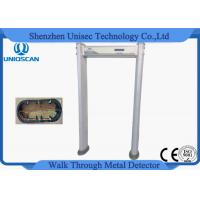 Quality 18 Zone Door Security Guard Metal Detector Airport Body Scanner With High Sensitivity for sale