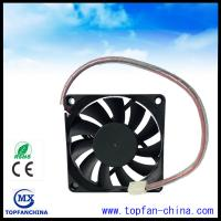 Quality 12V Computer Case Cooling Fans , 15mm Thick Cooling Fans For PC for sale