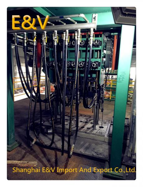 Buy Oxygen Free Copper Vertical Casting Machine 12000T / Y 500 Type Three- Body Furnace at wholesale prices