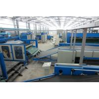 Buy cheap HONGYI-Automatic Nonwoven Spray glue soft and hard wadding/Oven production line from wholesalers