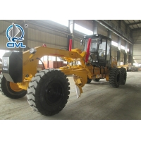Quality 135HP Small Motor Grader with Ripper and Blade With Cummins Engine , Rated Speed 100 / 2200kw/rpm for sale