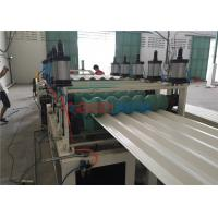 Quality UV Resistance Plastic Hollow Roof Sheet Making Machine For Warehouses Roofing for sale