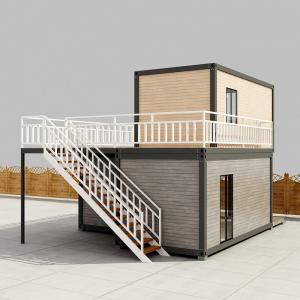 Quality 20 Foot 40 foot Prefab Container Homes Prefabricated High End Shipping Container Homes for sale