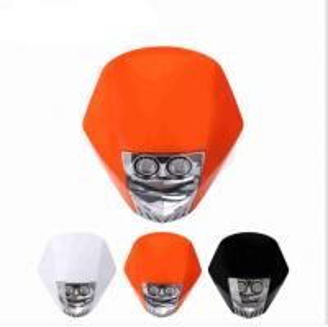 Buy cheap Motorcycle Driving Lights/KTM CRF XR WRFLED Universal Dirtbike/Motorcycle Headlight( White/ Orange/Black) from wholesalers