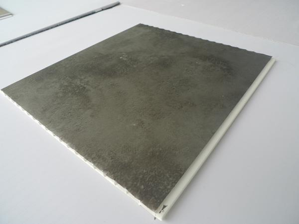 Buy 5.95M Length Washable PVC Wall Panel Hot Stamping Matt Surface Finish Bathroom Plastic Panels at wholesale prices