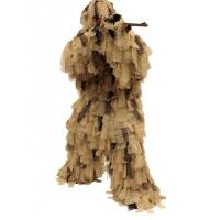 Quality Big Game Ghillie Suit Oak Leaf 3D Camouflage Ghillie Suit for sale