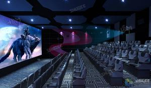 Quality SHUQEE Warm Welcomed SV 3D Cinema With Lifelike Picture Shock Resistance for sale