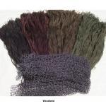 Quality Bushrag 3D Leaf Ghillie Suit Bushrag Ghillie Camo Kit 6 Colours Head Net for sale