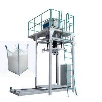 Quality 2000kg Bag Animal Feed Fertilizer Packaging Machine With Color Touch Screen for sale