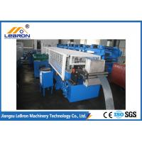 Buy cheap High Hydraulic Cut Shutter Door Roll Forming Machine Siemens PLC System Full from wholesalers