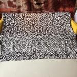 Quality 100 Percent Polyester Flannel Print Blanket For Bed Sets / Bathrobes Shrink Resistant for sale
