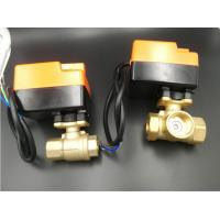 Buy cheap motorized ball valve for fan coil units 2 pipe system or 4 pipe system size 1/2 from wholesalers