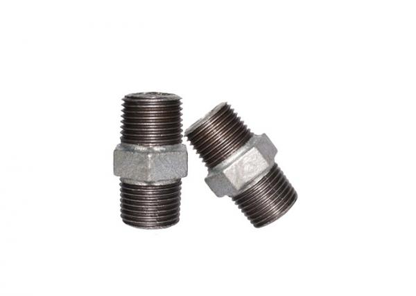 Buy BSPP Equal Swage Pipe Fitting Nipple Threaded Gas Nipple Fittings 1.6Mpa at wholesale prices