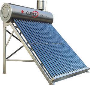 Quality Non Pressurized Solar Water Heater (GZ-U007) for sale