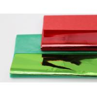 Quality Christmas Coloured Wax Paper Sheets Single Side Good Air Permeability for sale