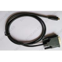 Quality Automotive Stereo DVI Video Cable Digital HDMI Micro Cable With UL Approved for sale