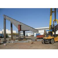 Quality Indian Strong Structural Steel , Bracing Platform Heavy Steel Construction for sale
