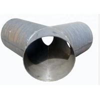 Quality ISO L300mm Wear Black Steel Alloy Pipe Fittings 18mm Thickness for sale