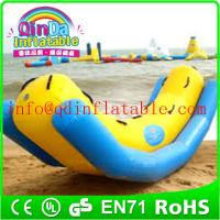 Inflatable commercial water park inflatable totter for water sports water totter for kids