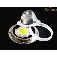 Quality 45 Degree Floodlight White COB LED Modules With Metal Holder , Silicon Gasket for sale