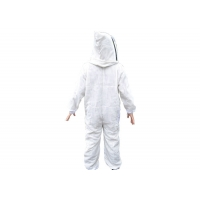 Quality Beekeeping Protective Clothing Three Layer Ventilated clothes Suit with Good Quality Veil for sale