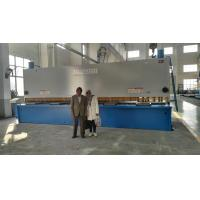 Quality Sheet Manual Hydraulic Guillotine Shear 6.5M Long Cutting Thickness 13mm for sale