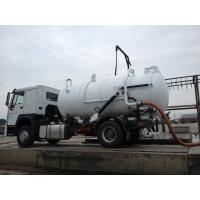 Buy 10000L Capacity 4X2 Sewage Suction Truck ZF8098 336HP Sewage Vacuum Truck at wholesale prices