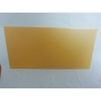 Quality Plastic 5.4mm Yellow Beeswax Foundation Sheets for sale