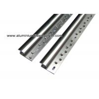 Quality Aluminum Laminate To Carpet Threshold/ Trim / Door Strip With Glossy Silver for sale