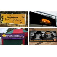 China Flex Vinyl Banners halloween banners Printing Outdoor Signs on sale
