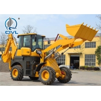 Quality XCMG Compact Wheel Loader XT870 4WD 0.25-0.35 M3 Digger Capacity Mini Backhoe Loader for sale
