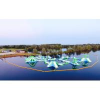 Buy cheap Oxford Inflatable Aqua Fun Park / Customized Inflatable Water Park Games For Lake from wholesalers